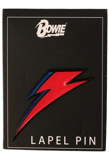 David Bowie Lightning Bolt Enamel Lapel Pin