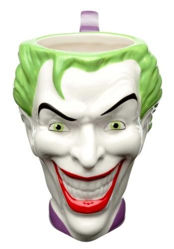 Joker Ceramic Sculpted Mug