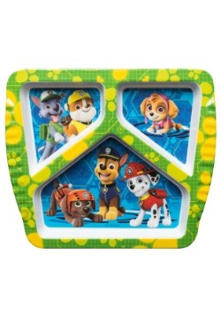 Paw Patrol 3 Section Plate