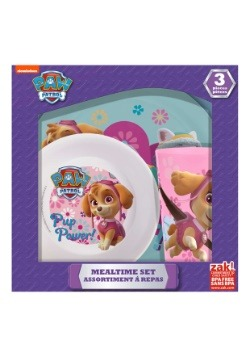 Paw Patrol Girls 3pc Dinner Set