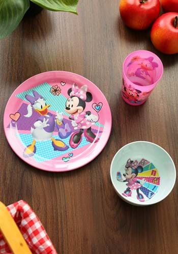 Minnie Mouse Happy Helpers 3 Piece Dinner Set