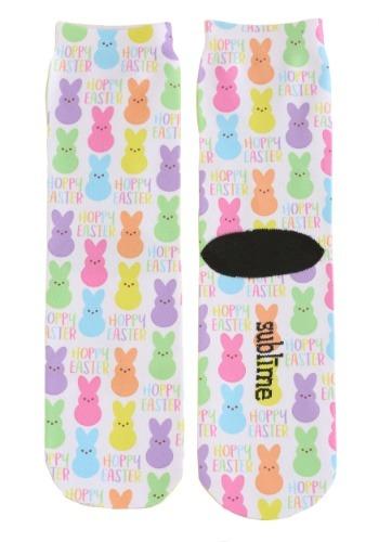 Hoppy Easter Adult Crew Socks