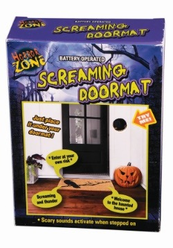 Motion Activated Screaming Doormat Decoration Halloween