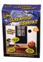 Motion Activated Screaming Doormat Decoration Halloween