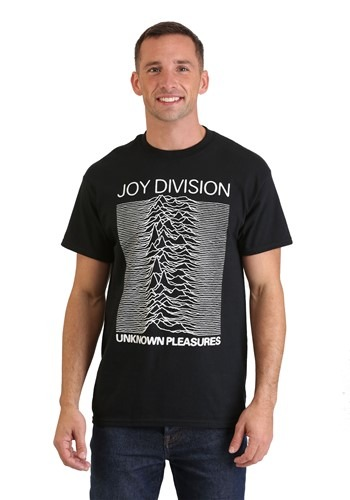 Mens Joy Division Unknown Pleasures Black T-Shirt