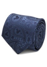 Mickey Mouse Navy Paisley Tie