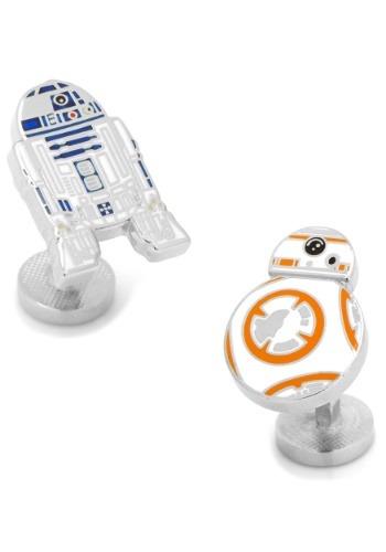 R2D2 and BB8 Enamel Cufflinks