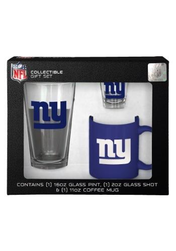 New York Giants 3PC Drinkware Gift Set