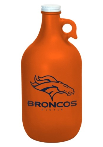 Denver Broncos Color Frosted 64oz Growler Main Update