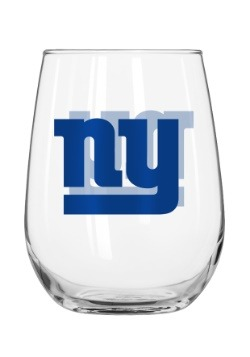 New York Giants 16oz Curved Glass Update1
