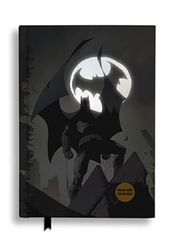 BATMAN DC COMICS BATSIGNAL NOTEBOOK W/LIGHT