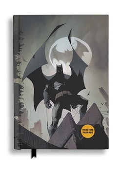BATMAN DC COMICS BATSIGNAL NOTEBOOK W/LIGHT 1