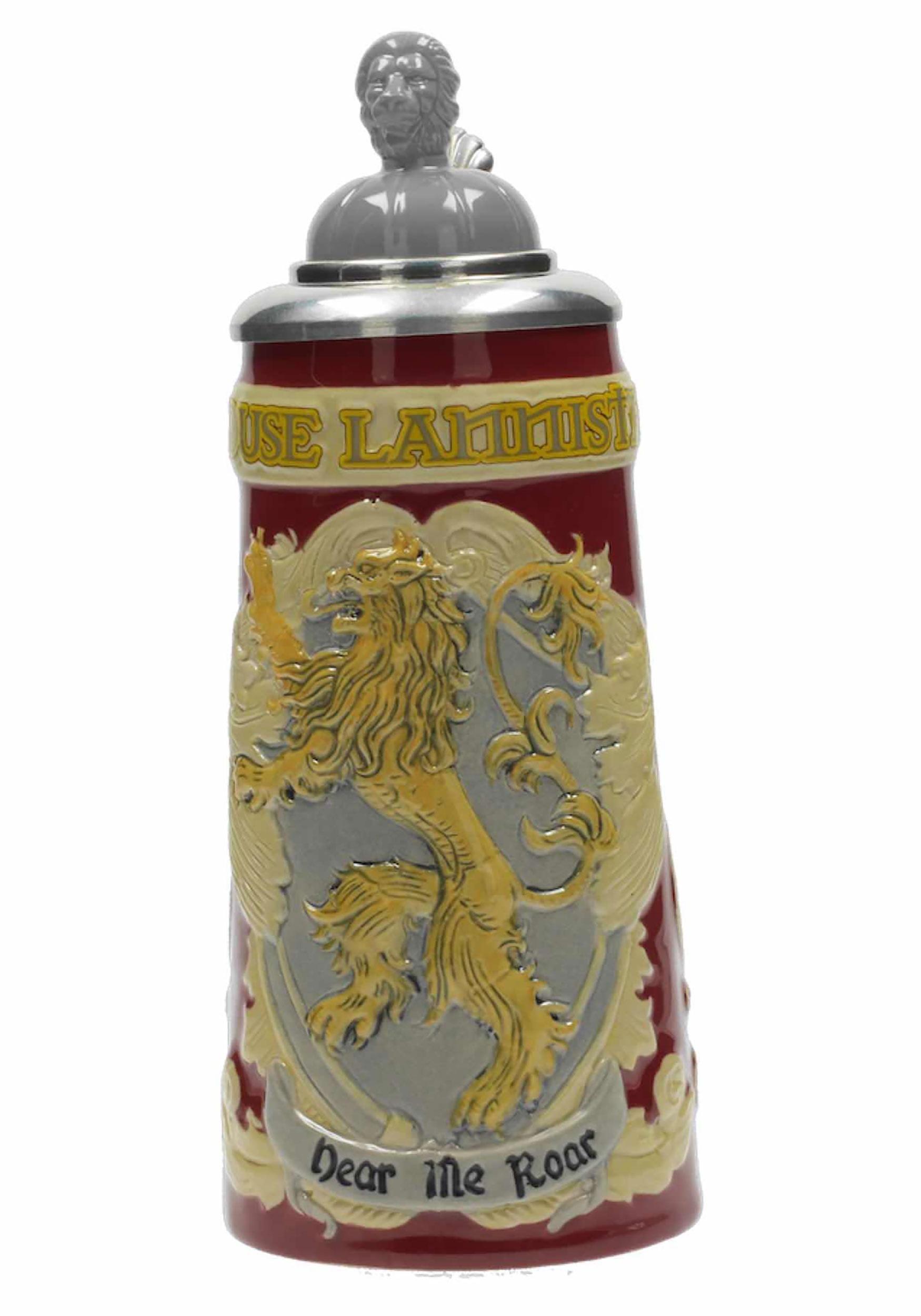 Game of Thrones House Lannister Ceramic Stein Mug