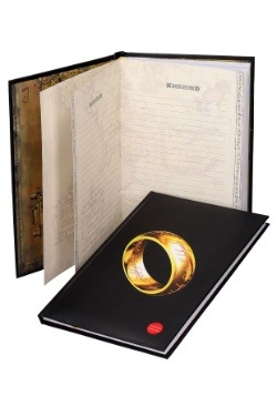 THE ONE RING- LORD OF THE RINGS- NOTEBOOK W/LIGHT alt 1