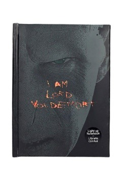HARRY POTTER LORD VOLDEMORT LIGHT-UP NOTEBOOK