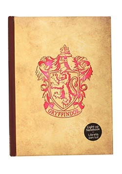 HARRY POTTER -GRYFFINDOR LIGHT-UP NOTEBOOK alt 1