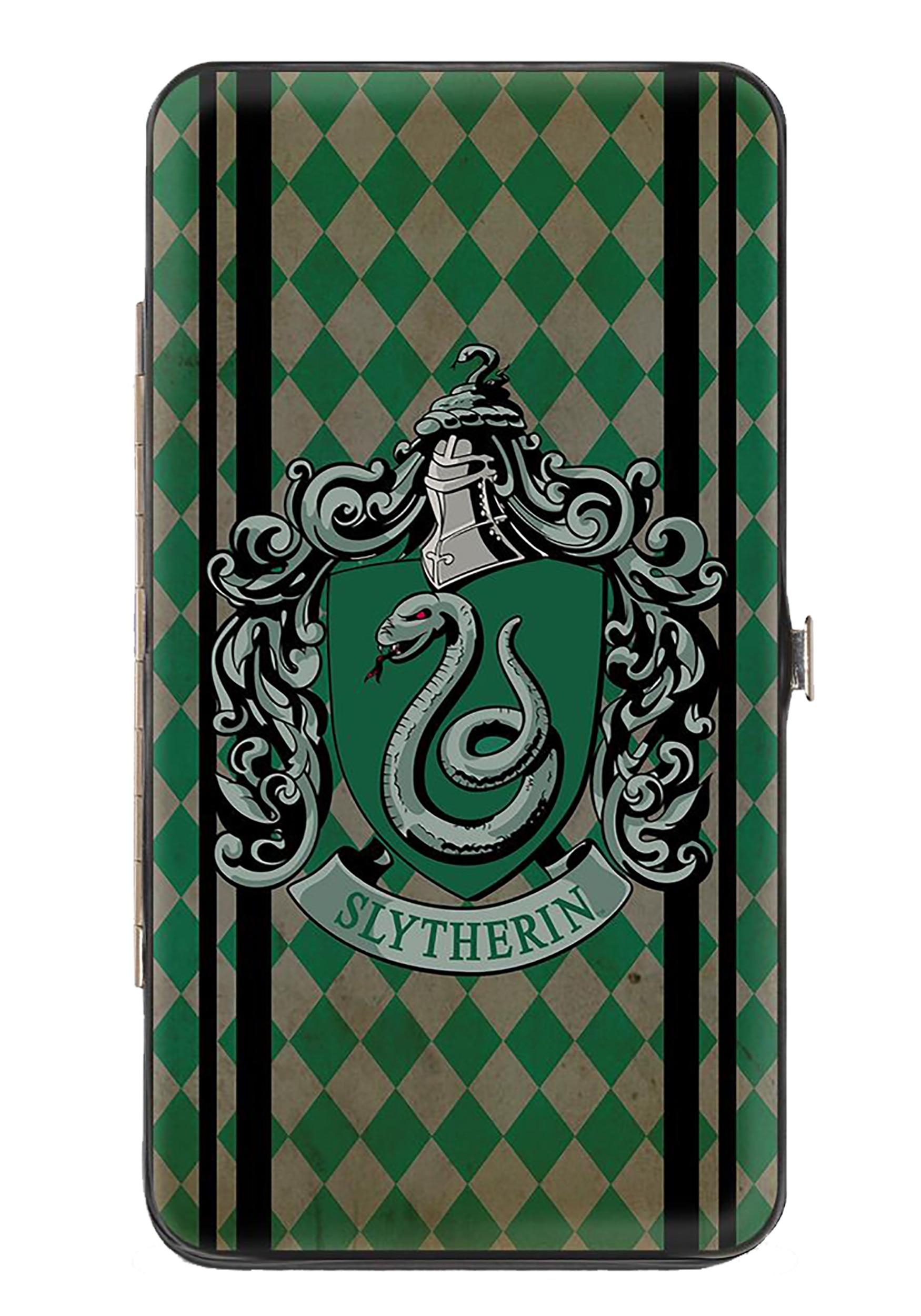 Slytherin_Crest_Harry_Potter_Hinged_Wallet