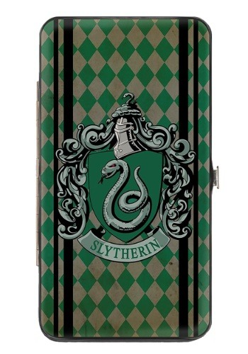Harry Potter Slytherin Crest Hinged Wallet