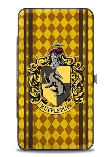 Harry Potter Hufflepuff Crest Hinged Wallet