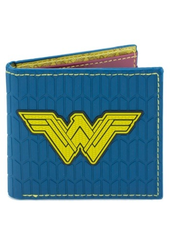Wonder Woman Logo Rubber Wallet