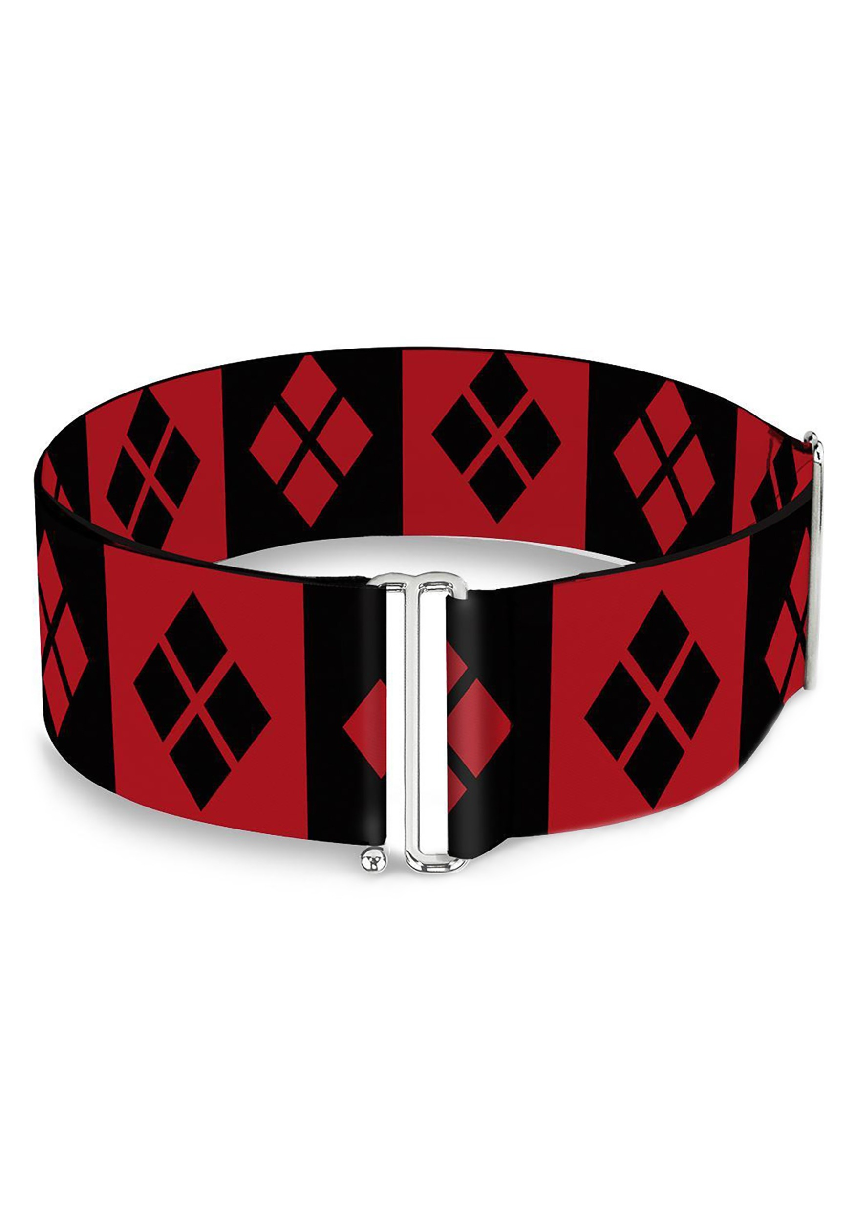 Harley_Quinn_Diamonds_RedBlack_Cinch_Waist_Belt