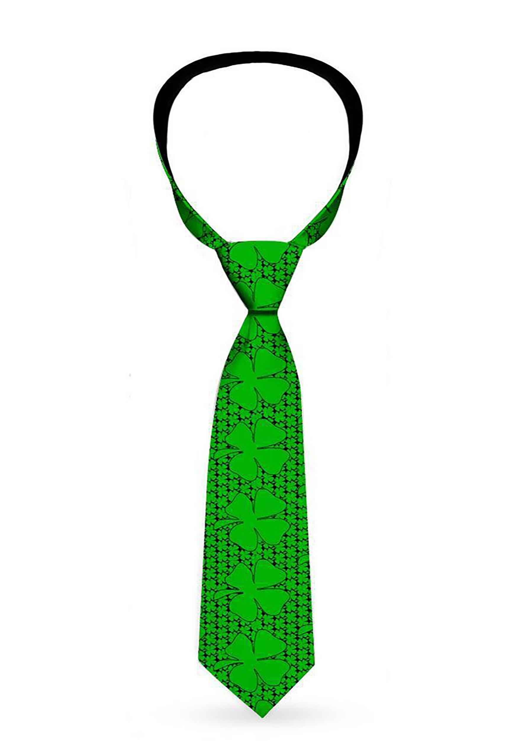 Saint_Patricks_Day_Clovers_Green_Necktie