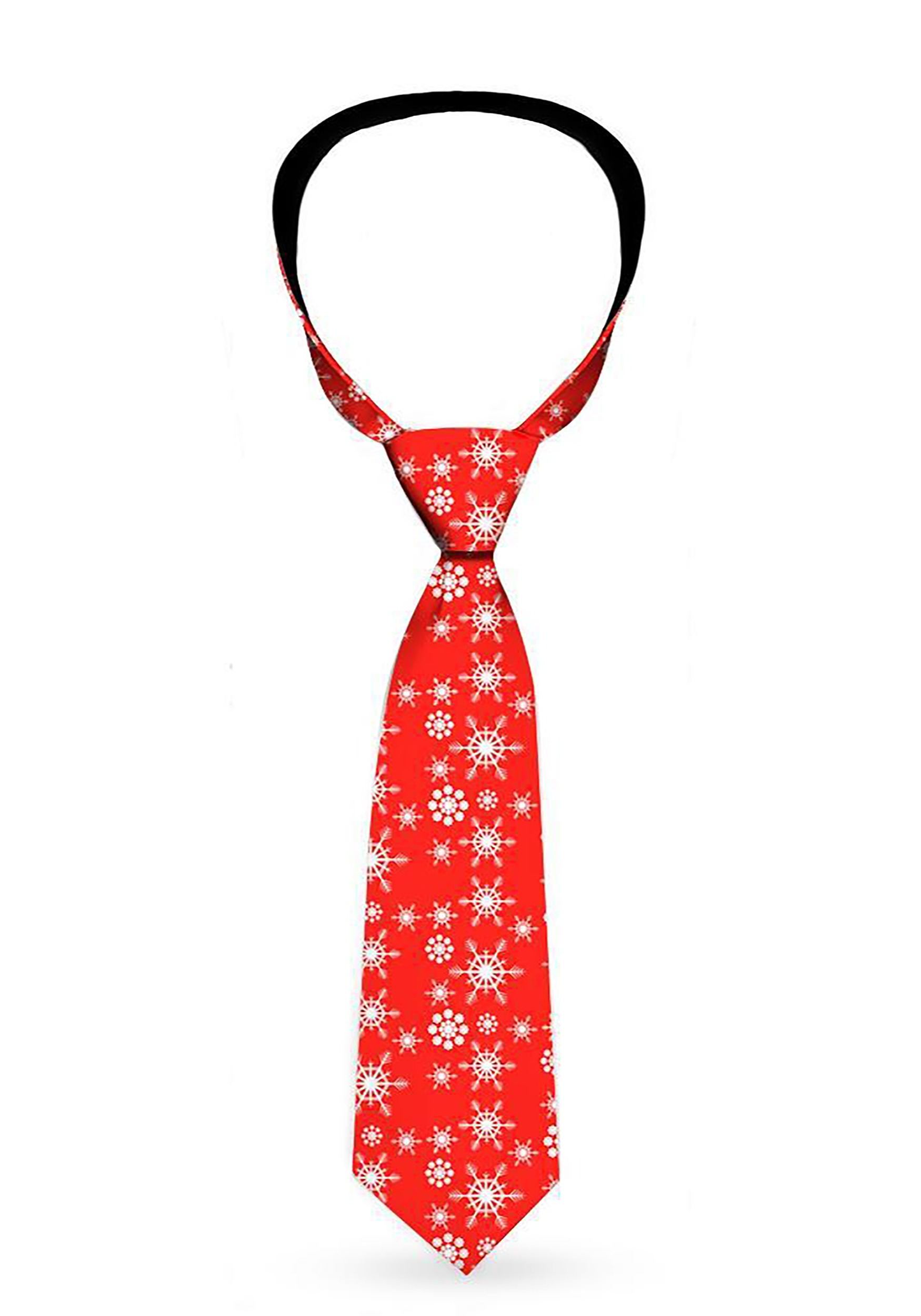 Holiday-_Snowflakes_Red_Necktie