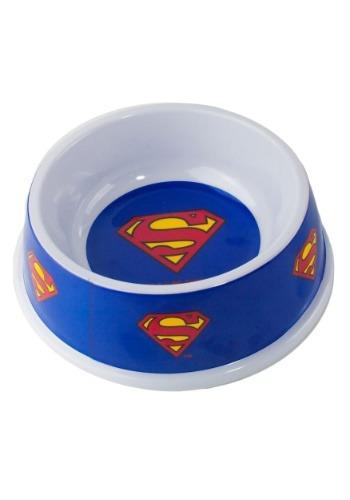 "Melamine Superman Shield Pet Bowl- 7.5"" (16OZ)"