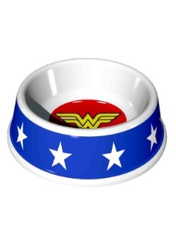 "7.5"" (16OZ) Wonder Woman Logo Melamine Pet Bowl"