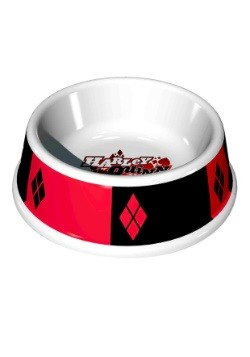 "7.5"" (16OZ)- Harley Quinn Melamine Pet Bowl"