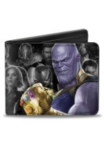 Avengers: Infinity War Thanos and Heroes Bi-Fold Wallet