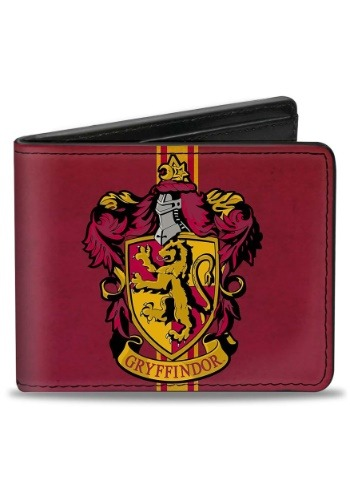 Harry Potter Gryffindor Crest Bi-Fold Wallet