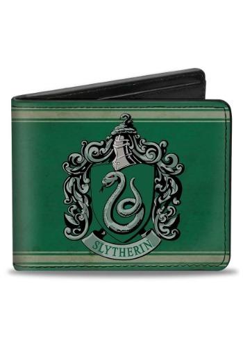 Harry Potter Slytherin Crest Bi-Fold Wallet