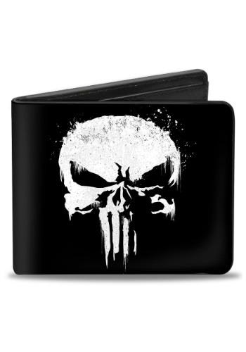Marvel The Punisher Logo Bi-Fold Wallet