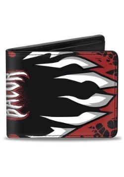 WWE Finn Balor Demon Teeth Bi-Fold Wallet