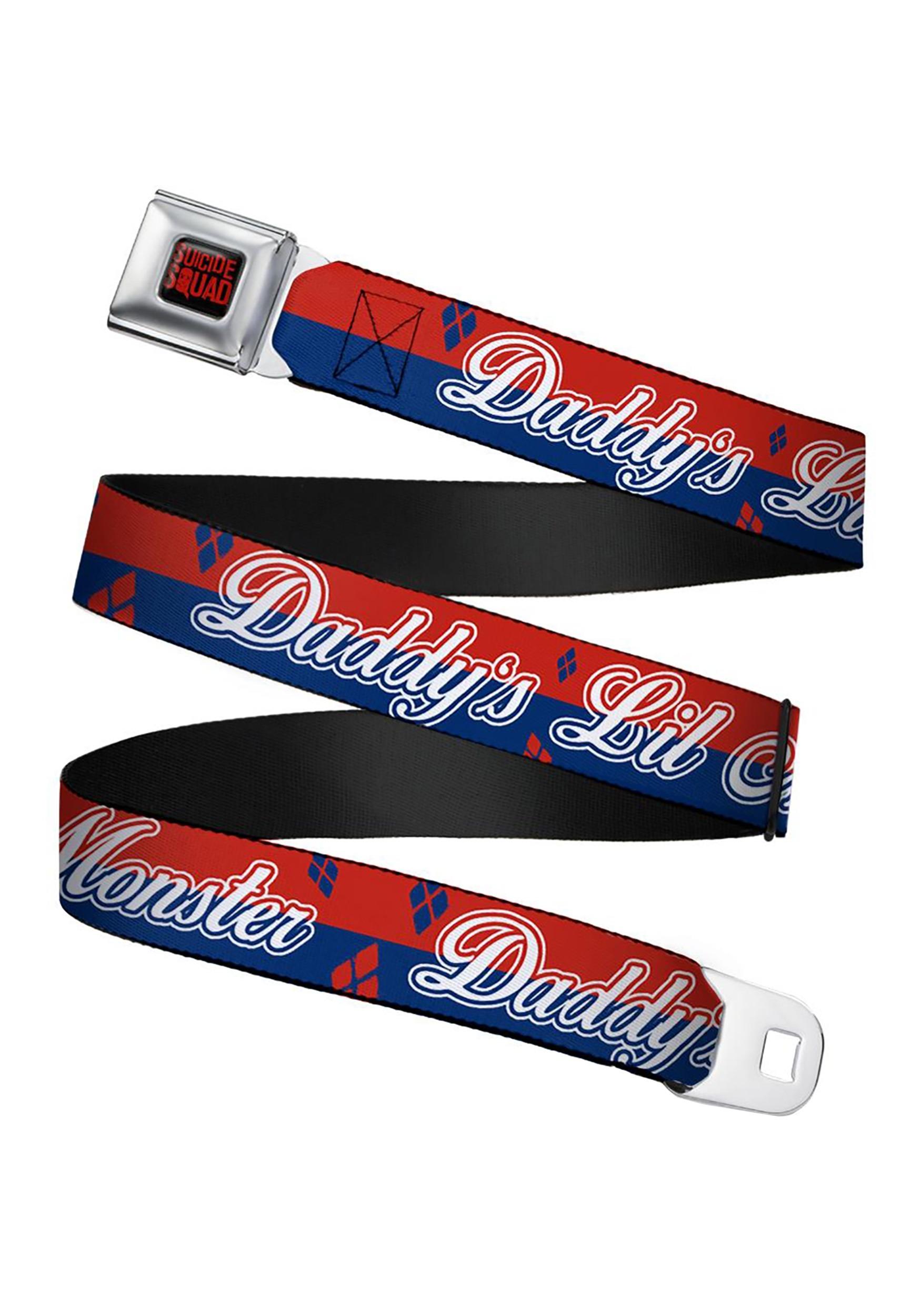 Harley_Quinn_Suicide_Squad_Daddys_Little_Monster_Seatbelt_Belt