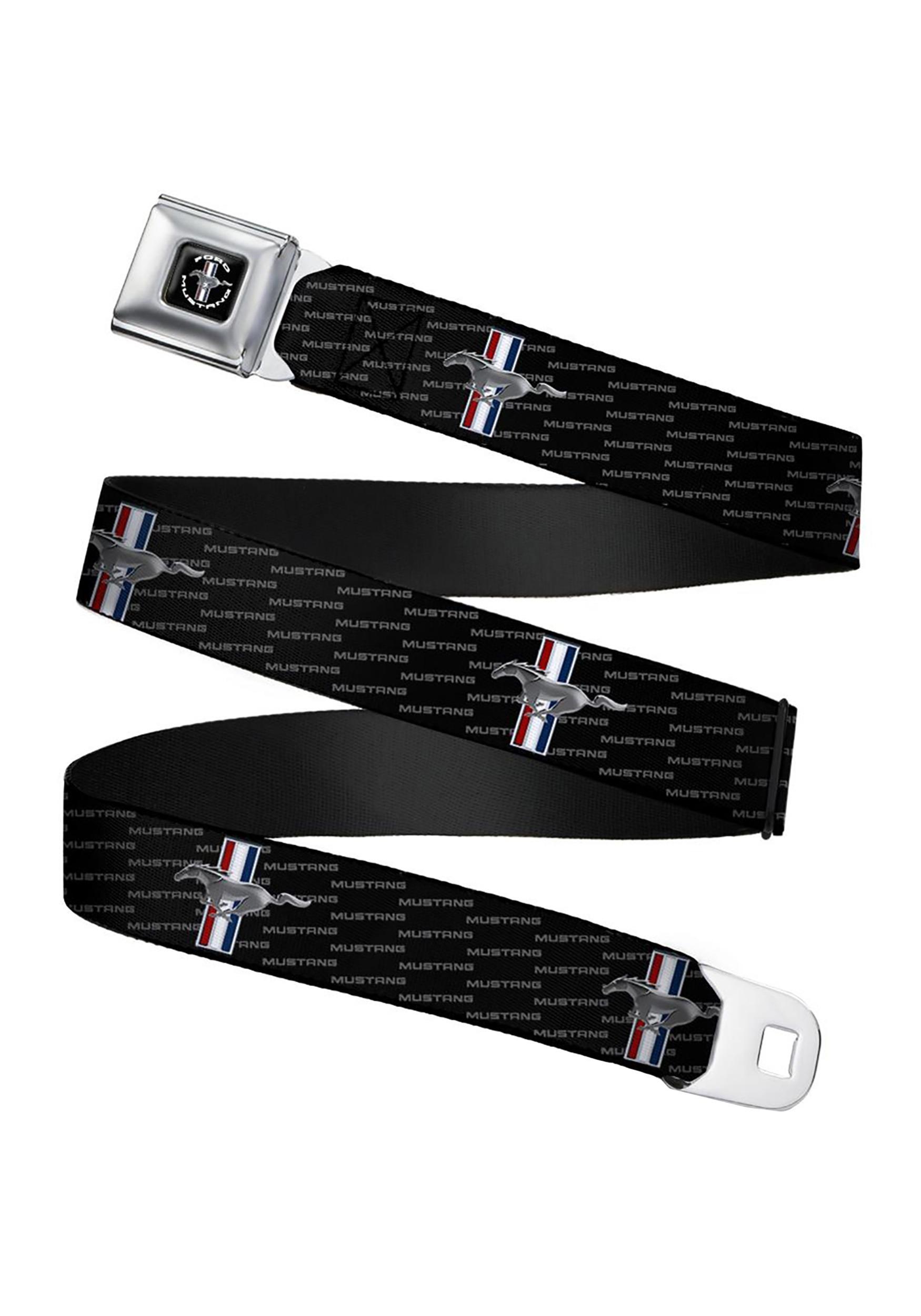 Ford_Mustang_TriBar_Logo_Seatbelt_Buckle_Belt