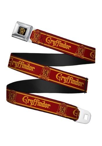 Harry Potter Gryffindor Crest Seatbelt Buckle Belt