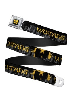Wu-Tang Clan Seatbelt Buckle Belt
