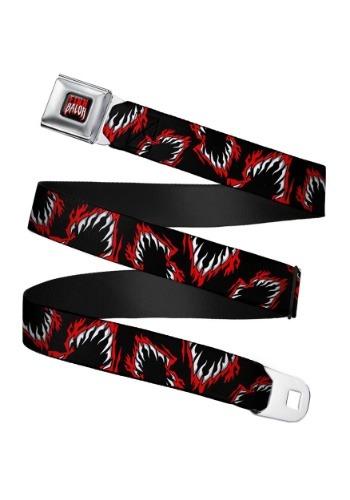 WWE Finn Balor Logo Seatbelt Buckle Belt
