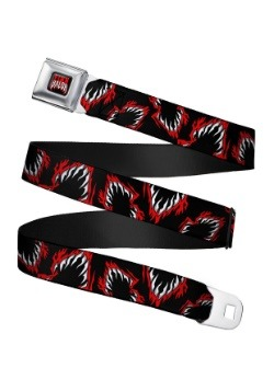 WWE Finn Balor Logo Seatbelt Buckle Belt