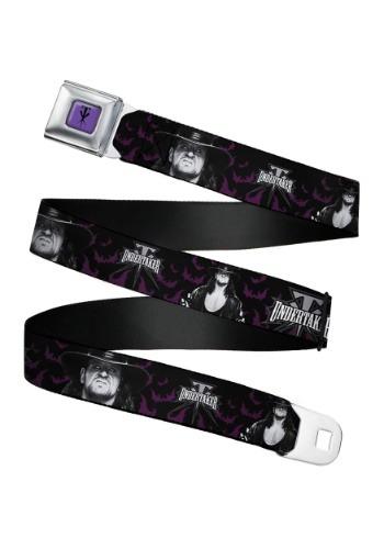 WWE Undertaker Seatbelt Buckle Belt