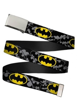 DC Comics Bat Signals Chrome Buckle Web Belt update 1
