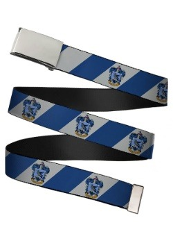 Harry Potter Ravenclaw Crest Chrome Buckle Web Belt update 1