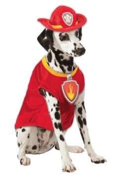 Marshall The Fire Dog From Paw Patrol Pet Costume