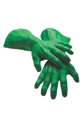 Hulk Hands Adult Deluxe Latex