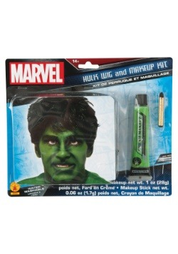 Hulk Makeup and Wig Kit