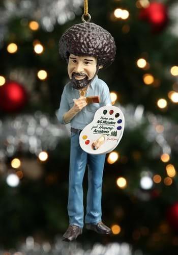 Bob Ross 5 INCH Molded Ornament Main UPD 2
