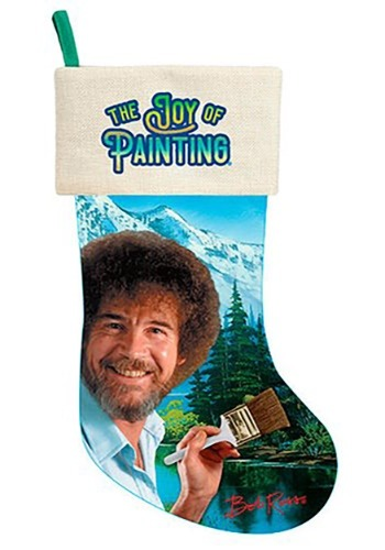 "Bob Ross 17"" Stocking"