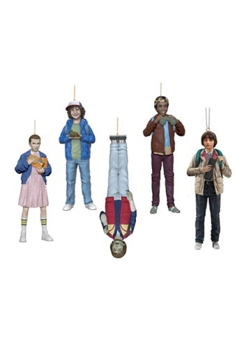Stranger Things Resin Ornament 5 Piece Set